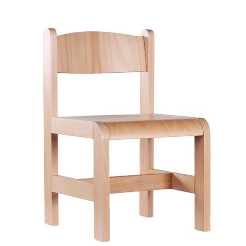6ec89e72c1cb Dětské dřevěné židle D3 různé výšky