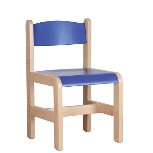 Dětské dřevěné židličky D3 různé výšky a barvy