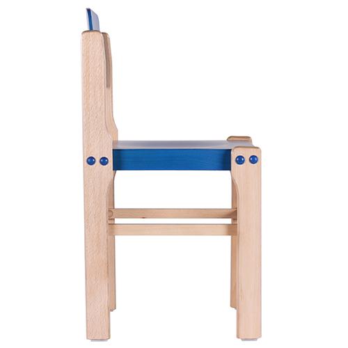 Barevné dětské dřevé židle
