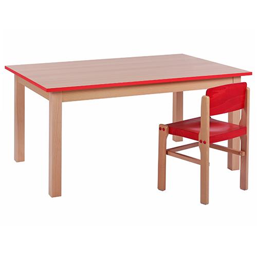 Dětské dřevěné stoly do školky