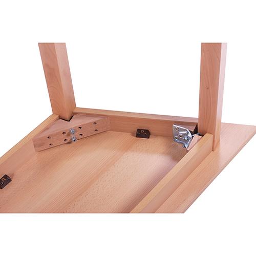 Stabilní dětské srevěné stoly
