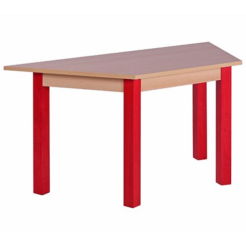 Barevné dětské stoly dřěvné