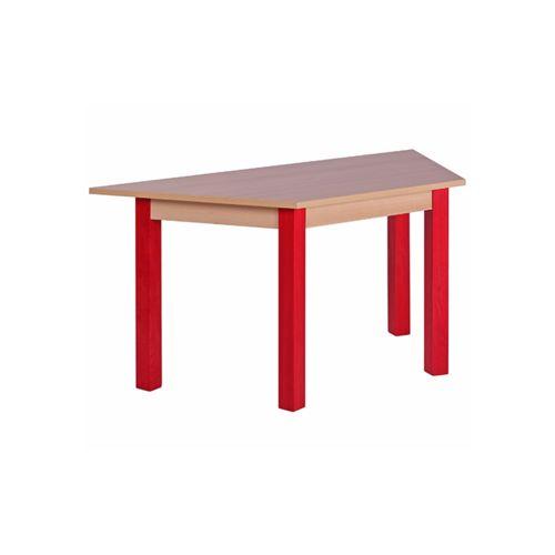 Dětské dřevěné stoly KOMBI 126TR trapéz (více rozměrů)