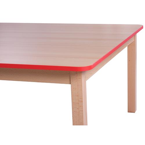 Dětské stoly se zaoblenou hranou