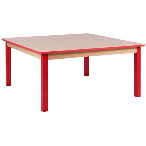 Dětské dřevěné čtvercové stoly SOLO HR (více rozměrů)