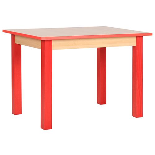 Detské drevené stoly pre kôlky