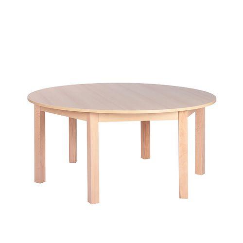 Dětské dřevěné kulaté stoly SOLO K (více rozměrů)
