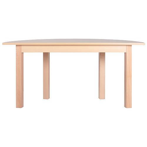 Půlkulaté dětské stoly