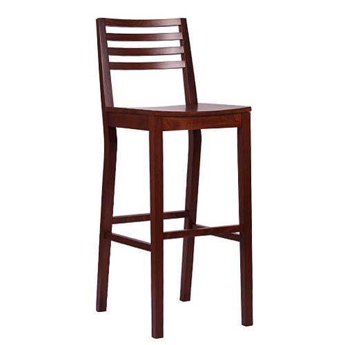 Dřevěná barová židle LUISA