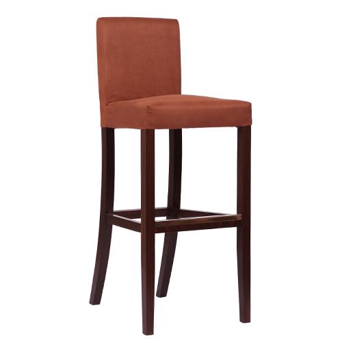 Dřevěná čalouněná židle