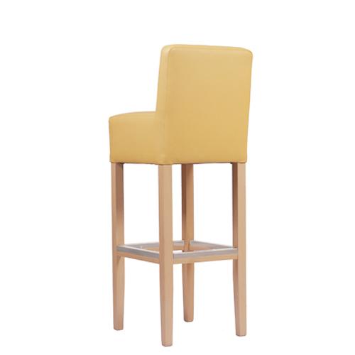 Barové levné dřevěné židle