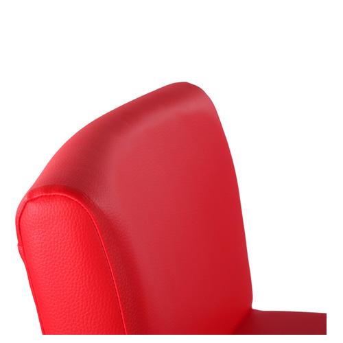 Pohodlné opěradlo barové židle
