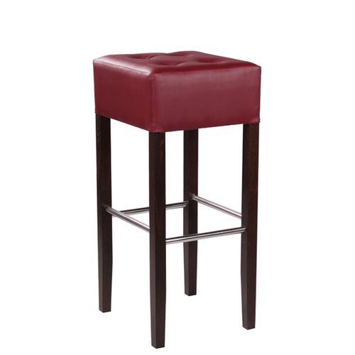 Dřevěná barová židle FAUST IX