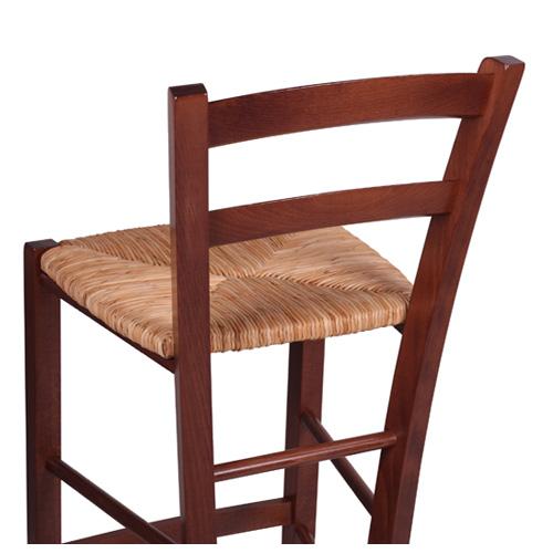 Barové židle vyplétaný sedák