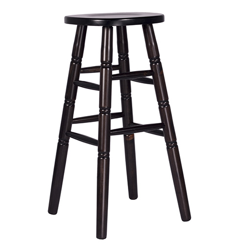 Barové borovicové židle