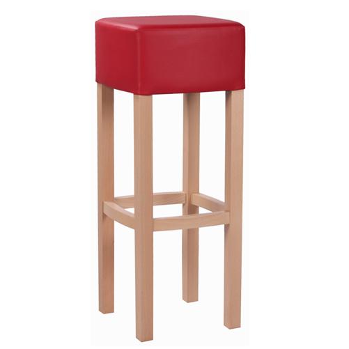 Barové dřevěné židle