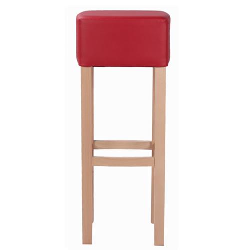 Odolná dřevěné barová židle