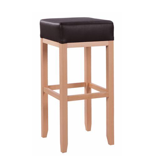 Dřevěná barová židle ALBERTO XL