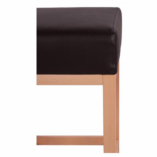Dřevěné čalouněné barovky