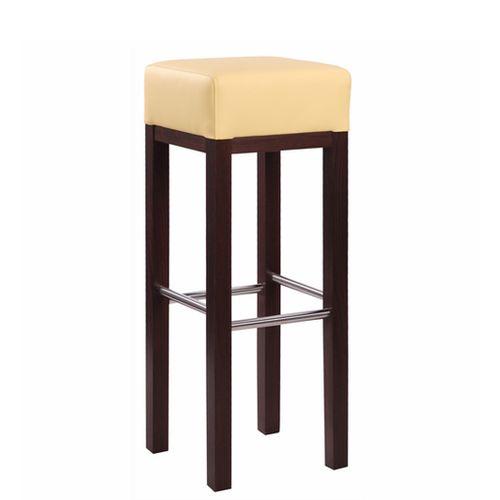 Dřevěná barová židle ALBERTO IX