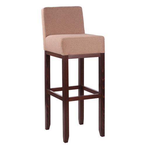 Dřevěná barová židle ALBERTO RL
