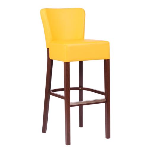 Čalouněná barová židle