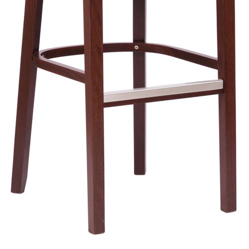 Čalouněná dřevěná barovka
