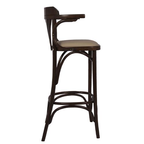 Dřevěné barové židle do restaurace