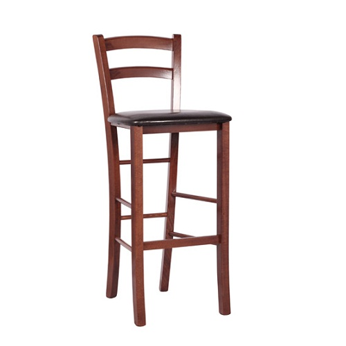 Dřevěné barové židle RICARDO BAR P
