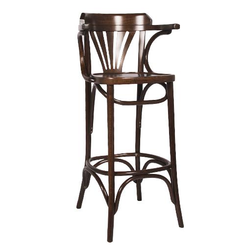 Dřevěná barová židle CLASSICO B90