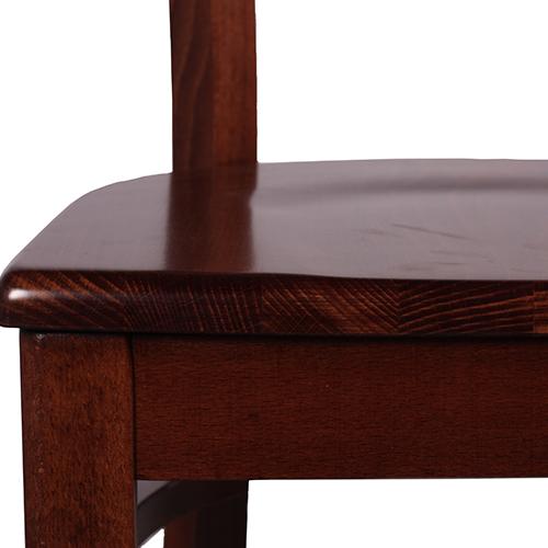 Dřevěný sedák