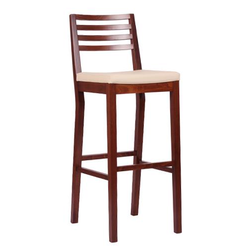 Dřevěná barová židle LUISA P