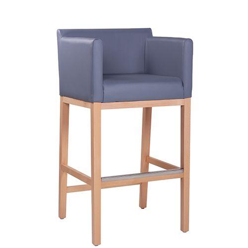 Pohodlné barové židle