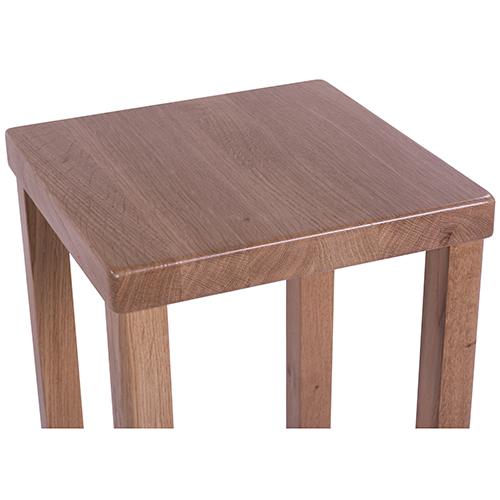 Barové židle dřevěné dubové