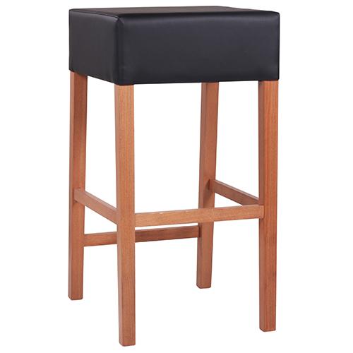 Drevené čalúnené barové stoličky