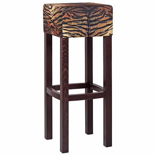 Barové židle látka ZOO Safari