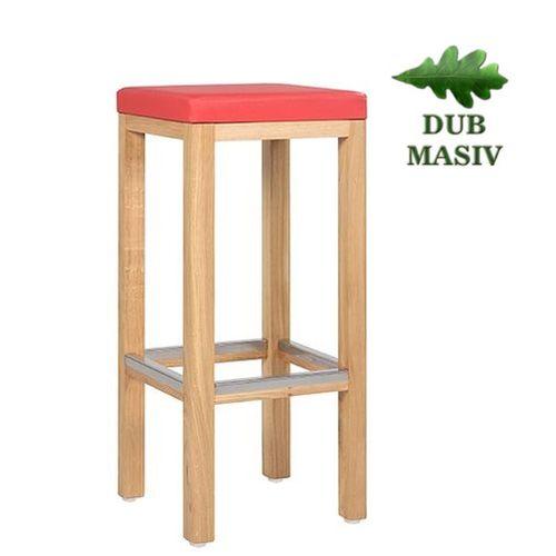 Barové stoličky masivní dub
