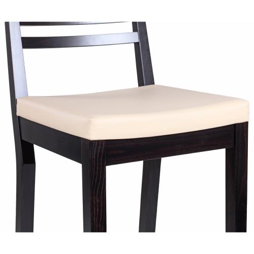 Drevené barové stoličky