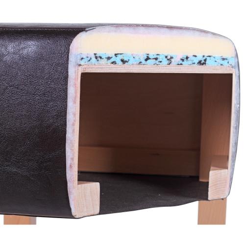 Kvalitní čalouněný sedák na barové židli
