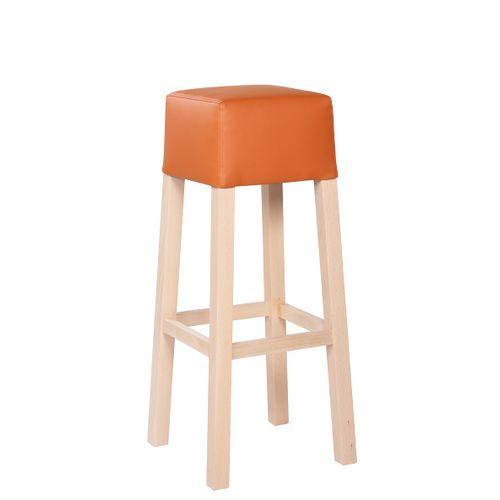 Dřevěná barová židle LOKI VPS