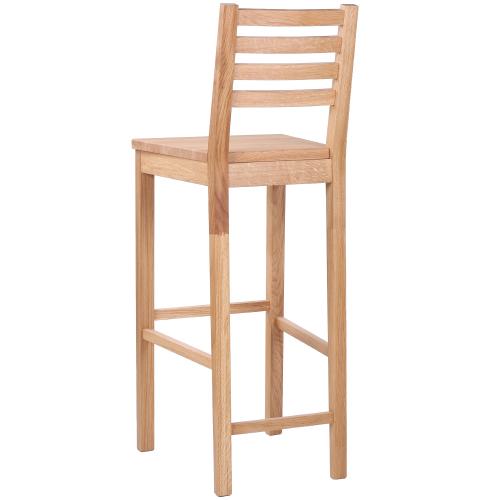 Barové židle masivní dub