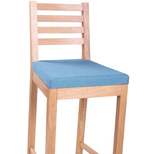 Barové židle dub masiv