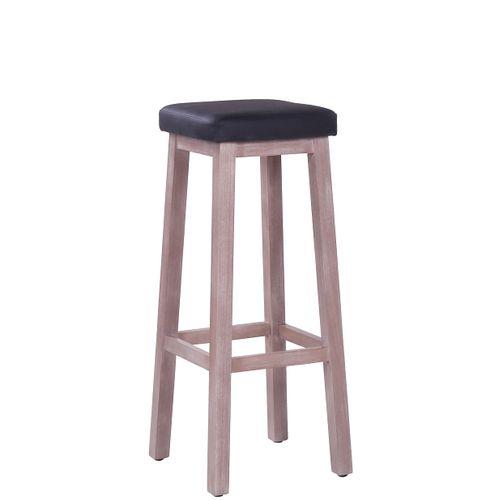 Dřevěná barová židle LOKI P