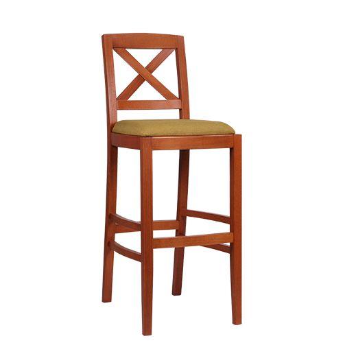 Dřevěné barové židle ALEX BAR
