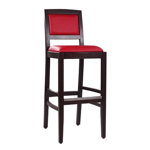 Barové židle čalouněné do restaurace