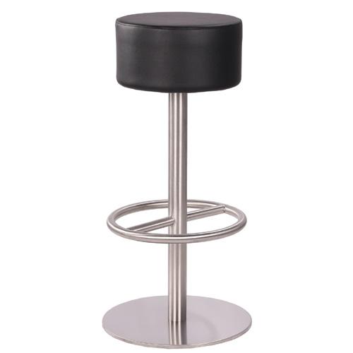 Kovové otočné barové židle
