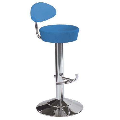 Kovová barová židle