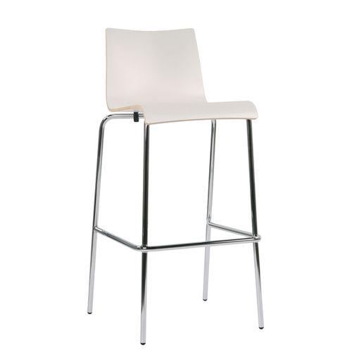 Kovové barové židle ROMAN
