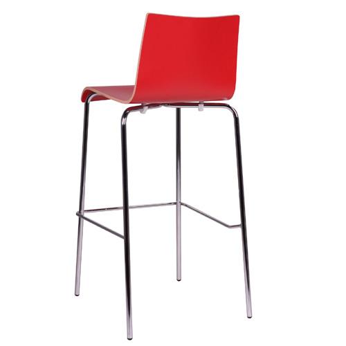 Kovové barové stoličky
