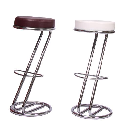 Kovoé barové židle